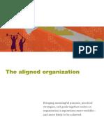 The Aligned Organization
