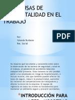 DIEZ CAUSAS DE ACCIDENTALIDAD EN EL TRABAJO.pptx
