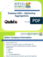 Essbase ASO - Optimizing Aggregations