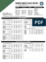 08.30.16 Mariners Minor League Report