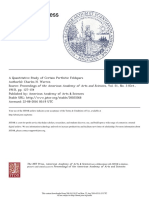 A QUANTITATIVE STUDY OF CERTAIN PERTHITIC FELDSPARS.