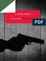Catálogo Siruela Policiaca