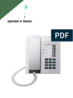 Siemens Hicom 150 Optiset e Basic Phone Guide