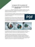 Probador de Lámparas CCFL de Pantallas LCD