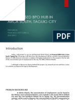 A Proposed Bpo Hub in Arca South