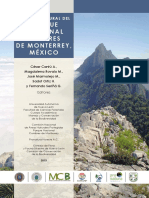 Parque Nacional Cumbres de Monterrey - Desarrollo Geologico