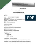 Fisa Postului - Asistent Medical Principal