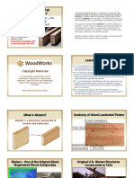 Glued Laminated Timber – an Innovative and Versatile Engineered Wood Product (Tom Williamson 2013)
