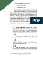 Conceitos - Microsoft Excel 2013 -Professor