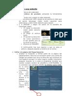 Editar Una Website
