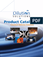 Dilution Solutions Catalog