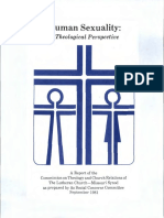 human sexuality a theological perspective 1981