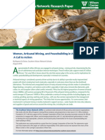 Women, Artisanal Mining, and Peacebuilding in Africa