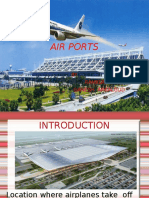 A Presentation on Design of Airport