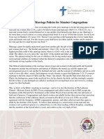 marriage policies for lcms member congregations 131119