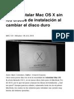 Cómo instalar Mac OS X sin los discos de instalación al cambiar el disco duro _ MAC OS _ Macworld