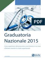 Analisi Graduatoria Nazionale 2015