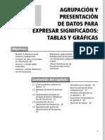 Distribución de Frecuencia Por Intervalos y Graficos Clase 2