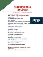 Alszeghy, Zoltan - Antropologia Teologica