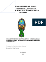 Trabajo Final Manej de Parasitosis San Borja Eid