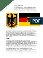 Bandera o Escudo de Alemania