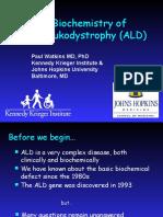 Documents.tips the Biochemistry of Adrenoleukodystrophy Ald