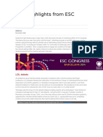 Lipid highlights from ESC 2014.docx