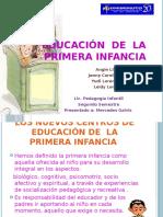 Educación  en la primera infancia