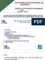 1. Evaluacion, Geotecnia Empleada Como Medio Pericial- InG. HUGO VILCHEZ