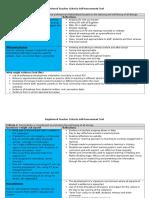 09 registered teacher criteria self