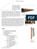 Lápiz - Wikipedia, La Enciclopedia Libre