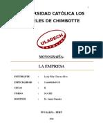 Monografía Lesly Chavez