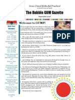 newsletter sept 2016