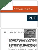 Evolucion Sistema Electoral en Chile