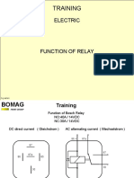 Function of Relay