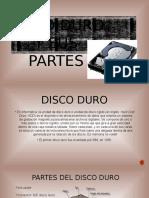 Disco Duro y Sus Partes