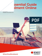 RMIT Enrolment Guide