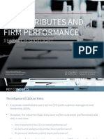 CEO Attributes and Firm Performance - Research Spotlight