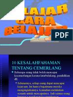 CD 1 Belajar Cara Belajar