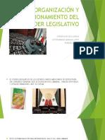 Organización y Funcionamiento Del Poder Legislativo