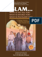 Islam…! What are the Veil, Divorce, and Polygamy for?