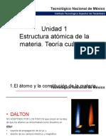 Unidad 1 Estructura de La Materia Teorc3ada Cuc3a1ntica