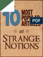 Strange Notions