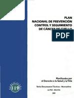 Plan Nacional de Prevencion y Control y Seguimiento de Cance(1)