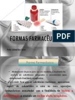 Farmacotécnica I - Aula 2 - Formas Farmacêuticas