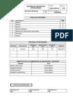 PRO-OPE-03 Documentación de Casos de Fuerza Mayor