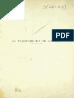 Vicuña Mackenna La transformación de Santiago 1872