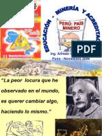 Educacion, Mineria y Acreditacion