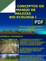 Bioecologia de Malezas 2016