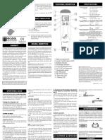 Manual Hanna EC HI 98130